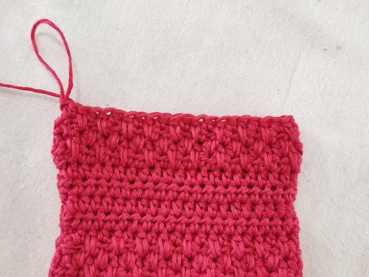 How to make extended half double crochet (ehdc)