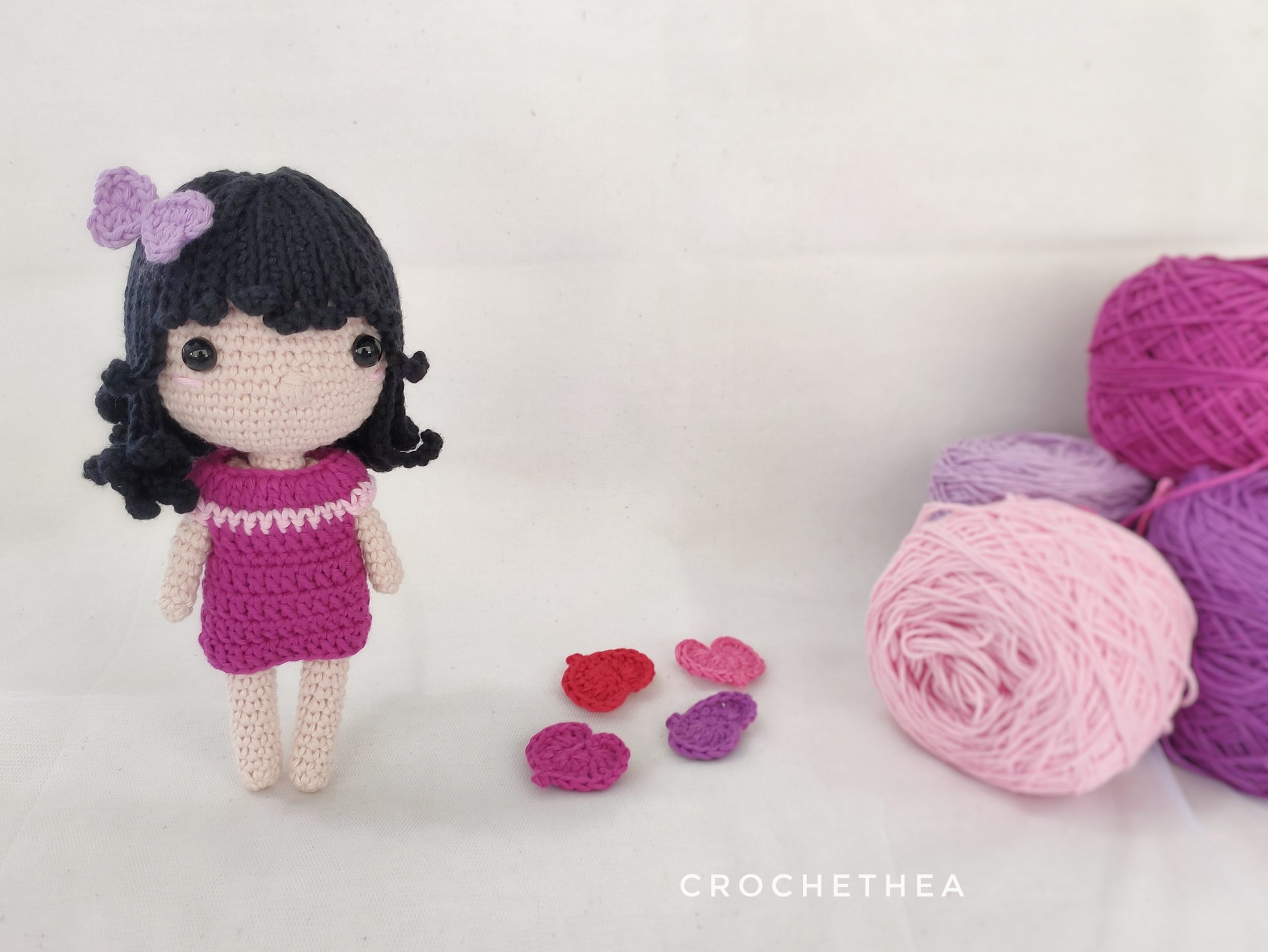Nola the Little Girl Amigurumi Pattern