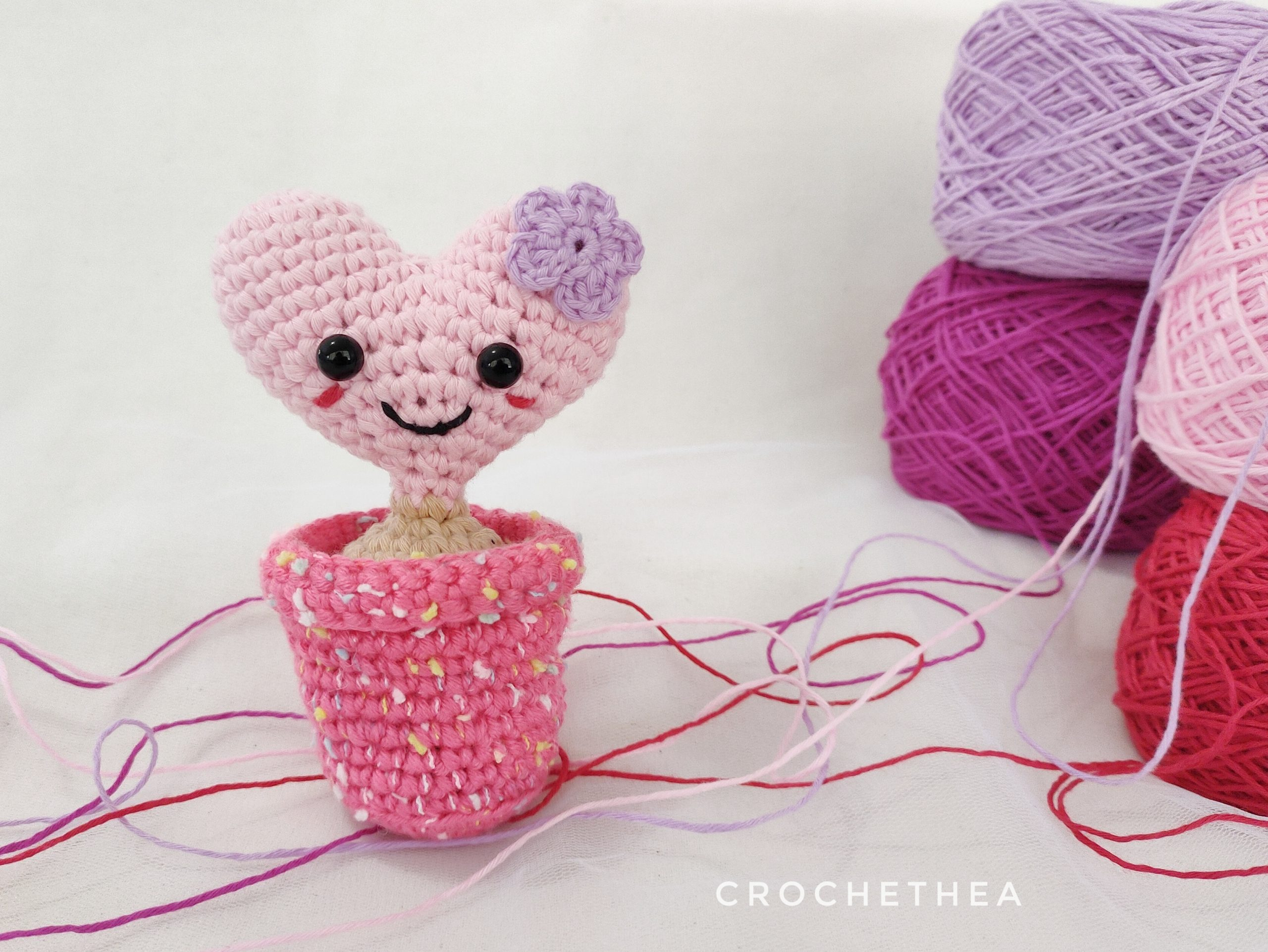 Cactus Heart Amigurumi for Someone Special