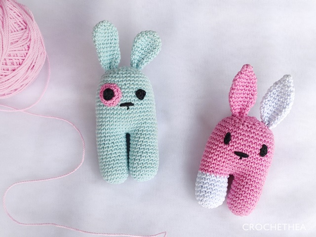 Blop and Kippi Bunny Amigurumi