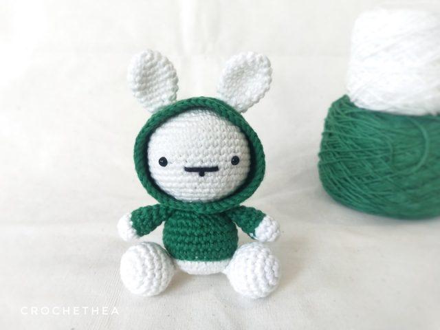 Merajut Boneka: Bunny in the Hood