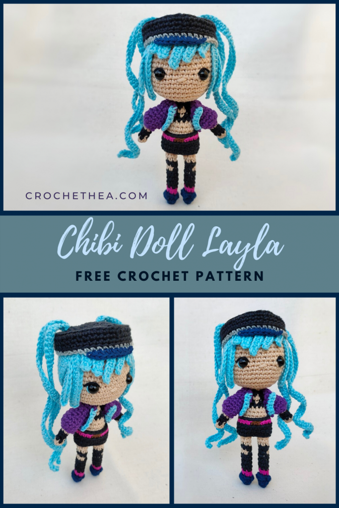 pinterest chibi doll Layla from Mobile Legends