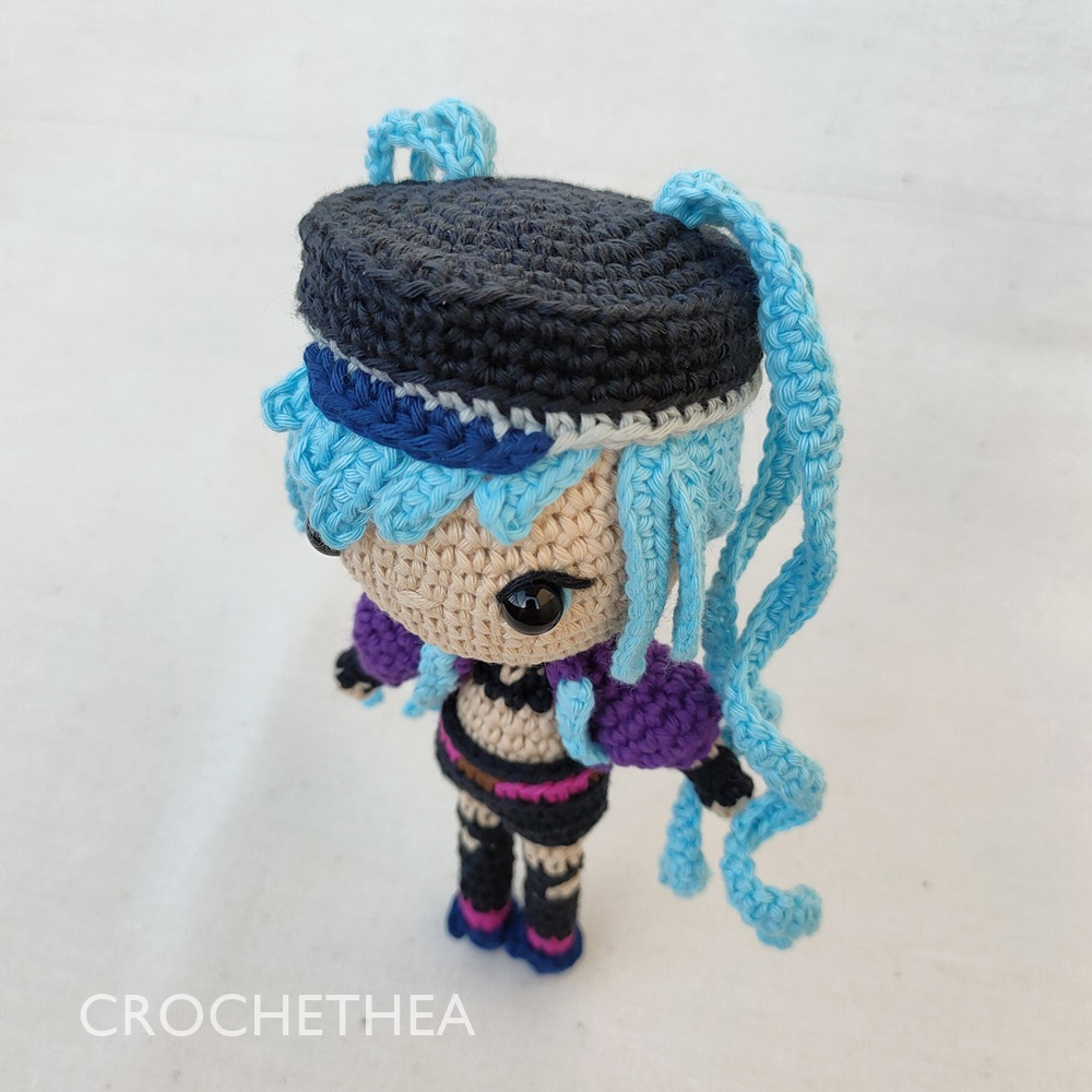 chibi doll Layla from Mobile Legends